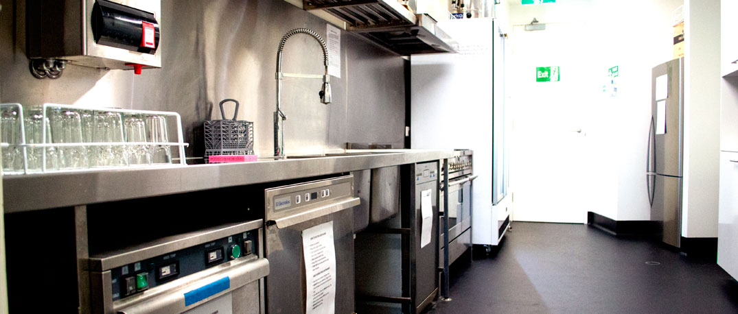 QMC Venue Hire Commercial Kitchen
