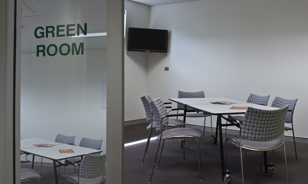 QMC Venue Hire Green Room